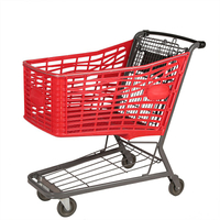 2019 New Plastic Supermarket Shopping Cart for Sale