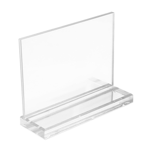 Acrylic Sign Holder for Cosmetics