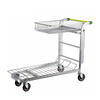 Folding Heavy Duty Transporter Warehouse Platform Cart
