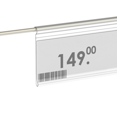 Hanging Shelf Label Holder