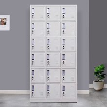 18 Door Metal Storage Locker