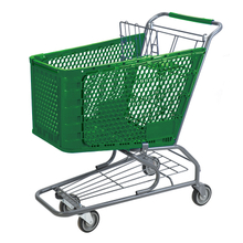 Plastic Shopping Cart P-3(160L)