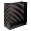 """H"" Shaped slatboard fixtures slatwall display stand towers"