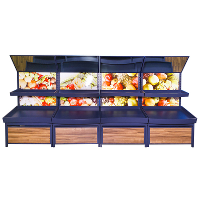 Wall Fruit And Vegetable Displays
