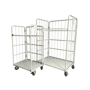 Foldable Warehouse Cage Trolley