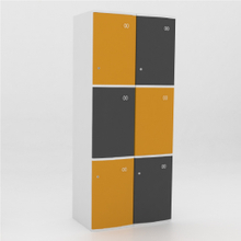 6 Door ABS Plastic Locker
