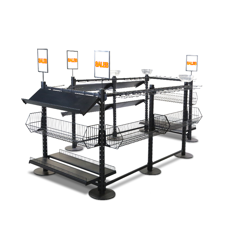 Retail Impulse Queue Management Shelving System