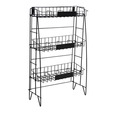 Three Shelf Wire Rack