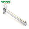 Slatwall Straight Clothes Arm Oval Tube