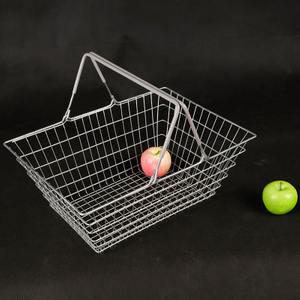 Metal Wire Shopping Basket for Supermarket And Uty-free Shops