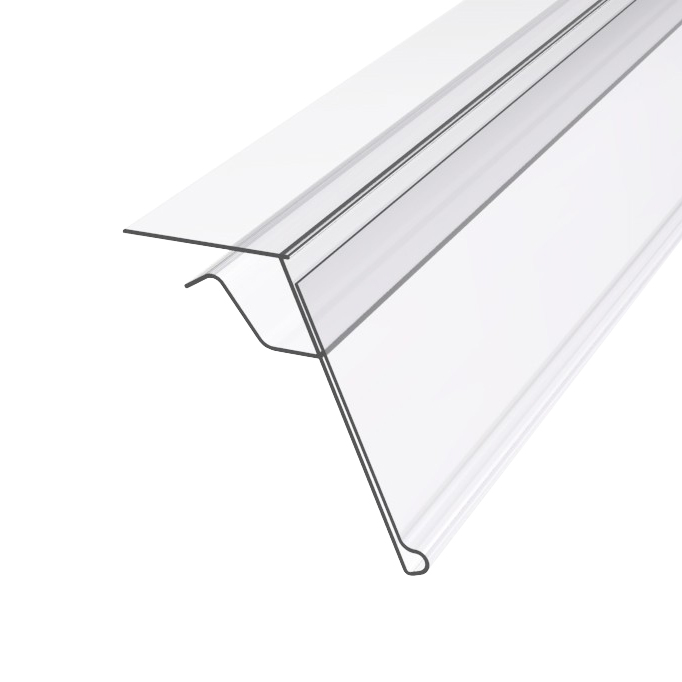 Data Strips for Glass Shelves