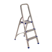 Foldable 3 Step Aluminum Ladder