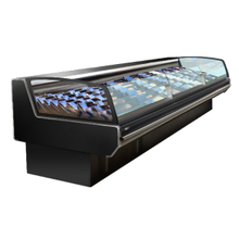 Supermarket -1~5℃ Deli Cooler for Service Counter Meat Display